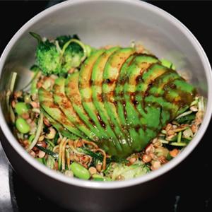 KXU Salmon salad Chelsea in Bloom